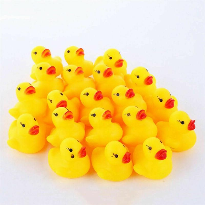 Lot 10-200 Yellow Floating Toys