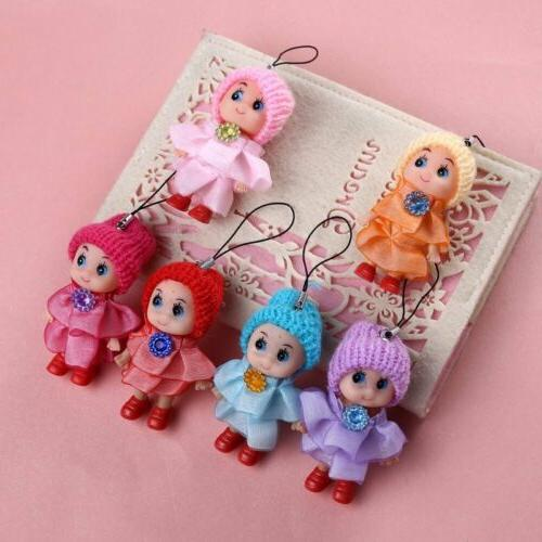 5Pcs Kids Toys Interactive Baby Mini Doll Girls and