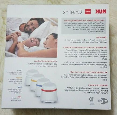 NEW! Onelink Baby Nursery Environment Monitor, NWT
