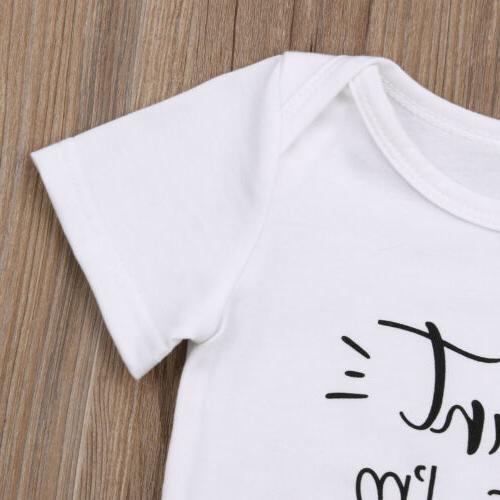 Newborn Unisex Cotton Romper Jumpsuit Bodysuit Set