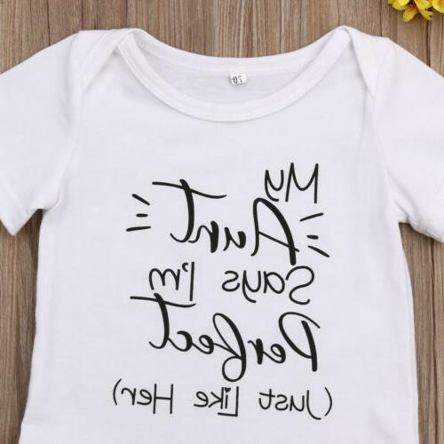 Newborn Baby Boy Girl Unisex Bodysuit Sunsuit