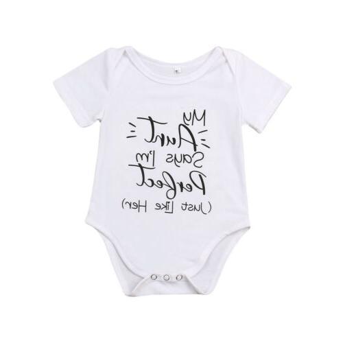 Newborn Baby Unisex Romper Bodysuit Clothes Set