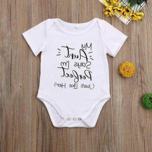 Newborn Baby Unisex Romper Bodysuit Set
