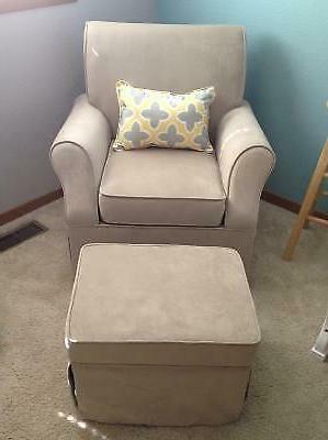 Nursery Glider Swivel Nursing Living Lounge Sofa