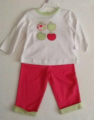 NWOT!-Nursery Rhyme-3/6M-Baby Shirt, Jacket-Apple