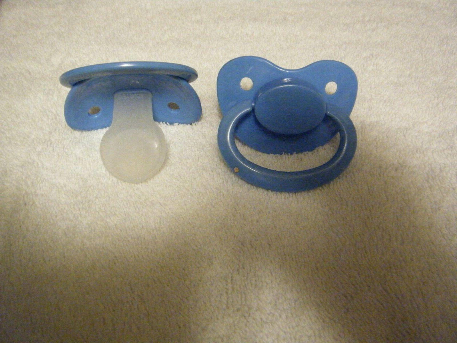 PACIFIER BY SILICONE, OVER SIZED COLORS