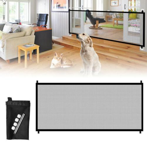 Pets Dog Cat Portable Safety Fence Indoor Kitchen Net