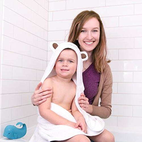 Premium Hooded and Baby Boy | Bamboo Bath Towel with