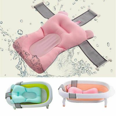 Portable Baby Shower Bath Tub Mat Newborn Safety Security