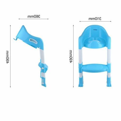 Folding Potty Toilet Safety Seat Chair Ladder MY