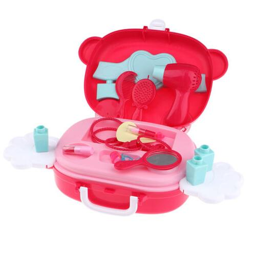 Pretend Play Fashion Cosmetic Make-Up Set Toy for Little Gir