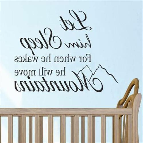 pvc wall stickers wallpaper english him sleep