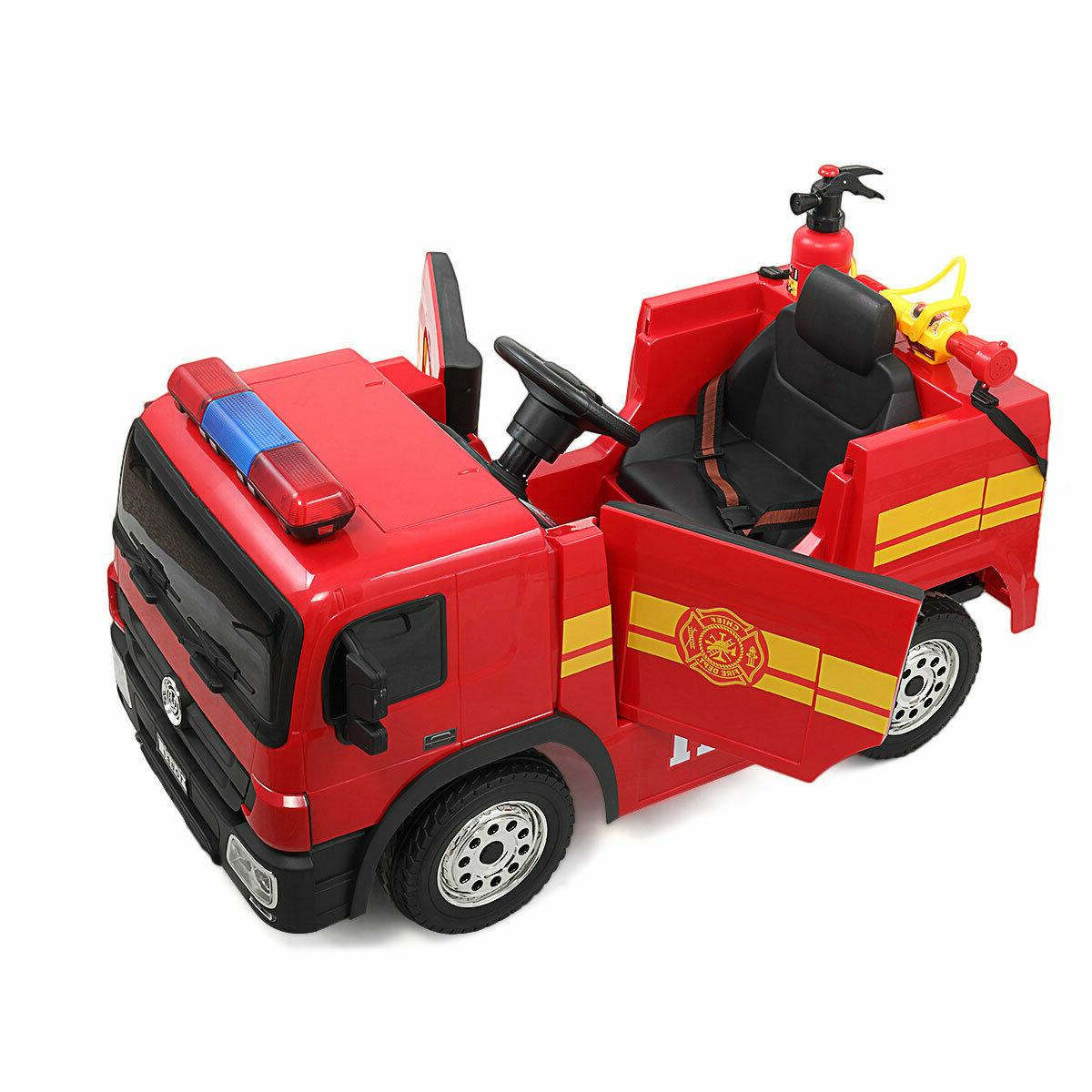 Red Kids Ride Child Play w/ Remote Control