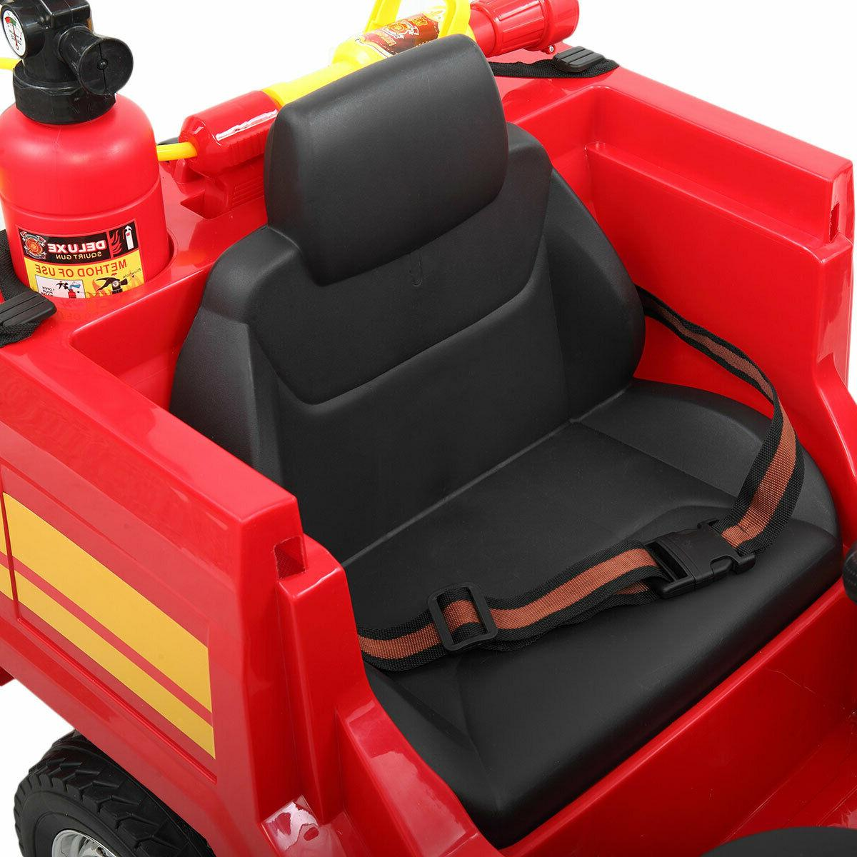 Red Electric Kids Ride Child Play w/ Remote Control