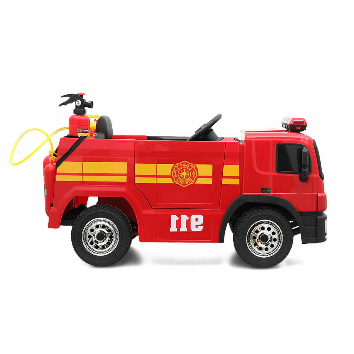 Red Electric Kids On Car Child Toy w/ Control