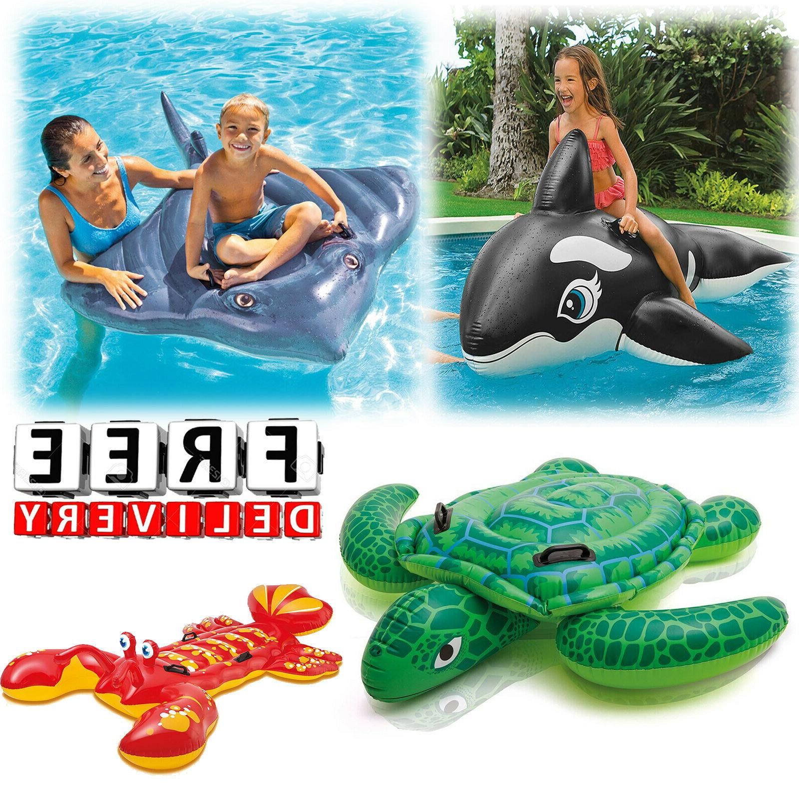 Ride On Pool Toys Kid Children Inflatable Float Swimming Acc