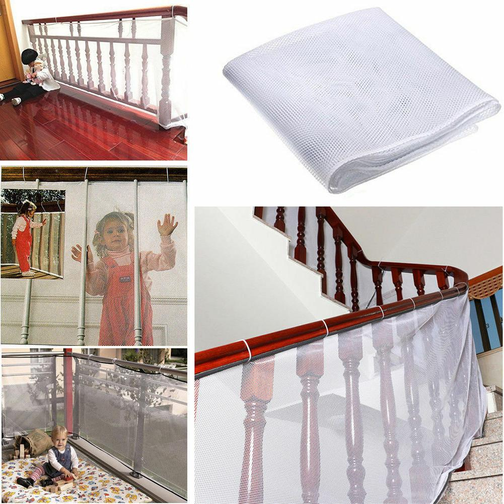 Safety Child Railnet Net Pet Guard Baby Stair Balcony Deck G