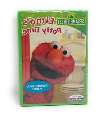 Sesame Elmo's Potty Training- Grover Preschool Children 2-4