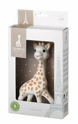 Sophie the Giraffe La Baby Teether Teething Pacifier Squeaky