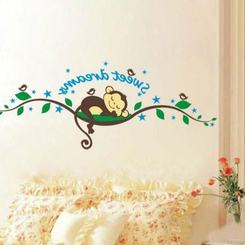 Sweet Wall Sticker Decal Baby Nursery Decor