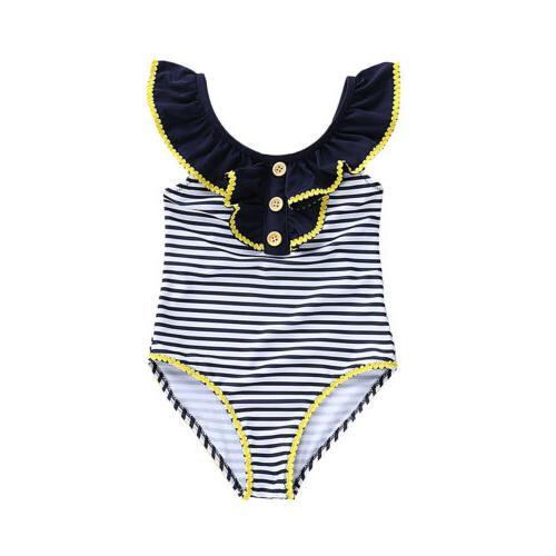 Toddler Girls Bathing Bikini Tankini Swimsuit