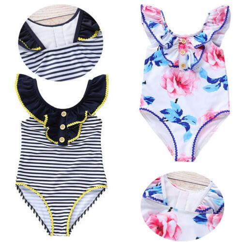 toddler baby girls kids bathing suit swimwear