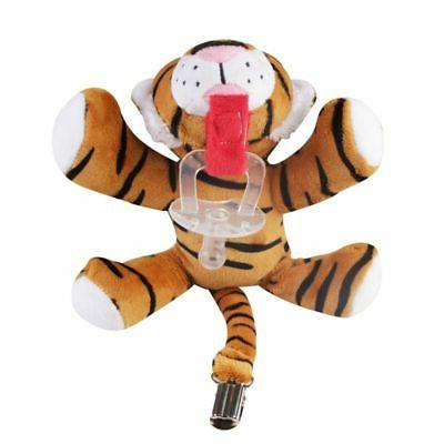Toddler Nipple Plush Toy Pacifier Clips Animals Feeding