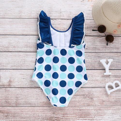 Toddler Swimwear Bathing Swimming Ruffle