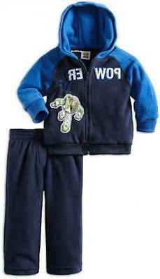 Toy Story 4 Toddler Boys L/S Micro Fleece Hoodie 2pc Pant Se