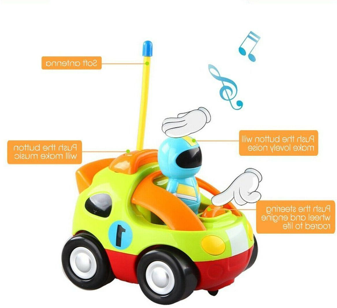 Toys Baby Kids Learning RC Cartoon 2 Year Old