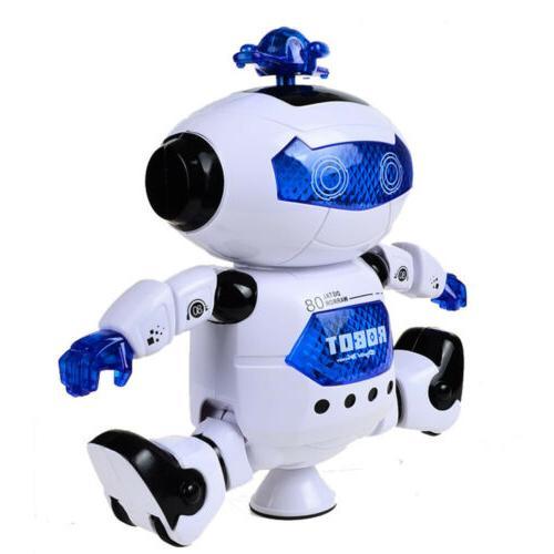 Kids Robot Dancing Musical Toy Xmas Gift