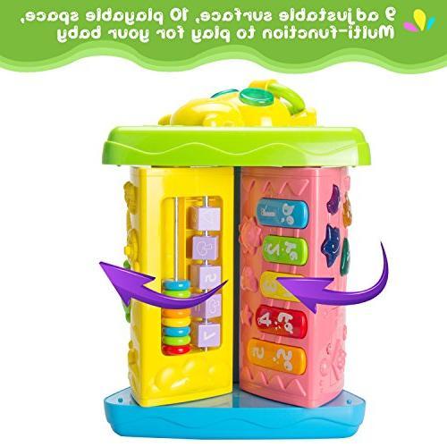 HOMOFY Learning 6 up Center Modes Game Kids Toddler Boys Girls 1,2,3, Years New