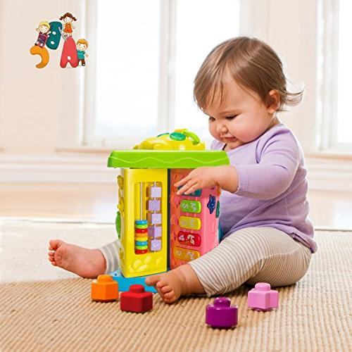 HOMOFY Learning Table up Center Kids Girls 1,2,3, New Gifts