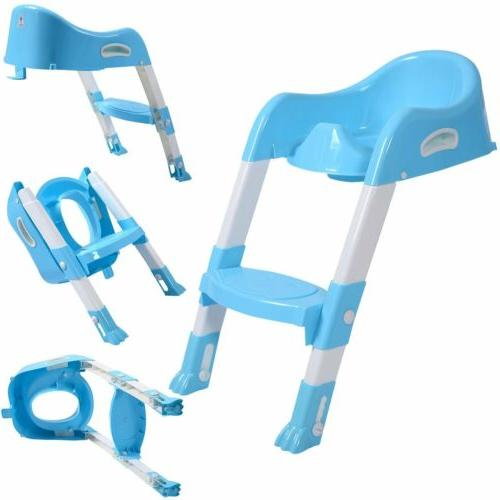 Trainer Potty Chair Toddler Ladder Step Stool