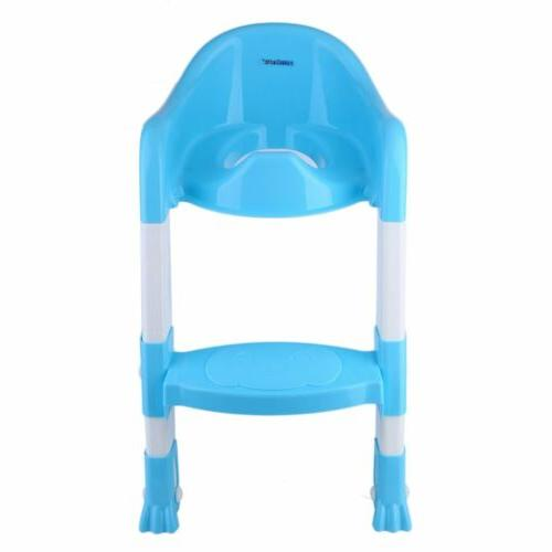 Trainer Toilet Chair Kids Ladder Up Training Stool
