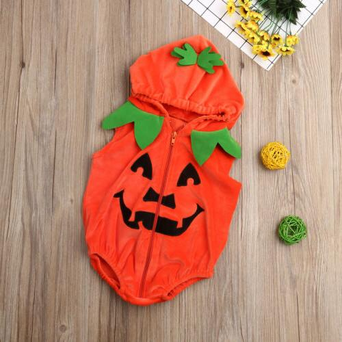 US Girl Halloween Romper Bodysuit Sleeveless