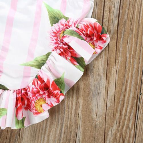 US Fashion Toddler Baby Girls Bikini Swimwear Swimsuit Bathing Suit Beachwear