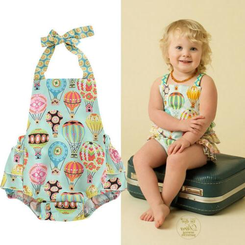 us summer newborn baby girl clothes sleeveless