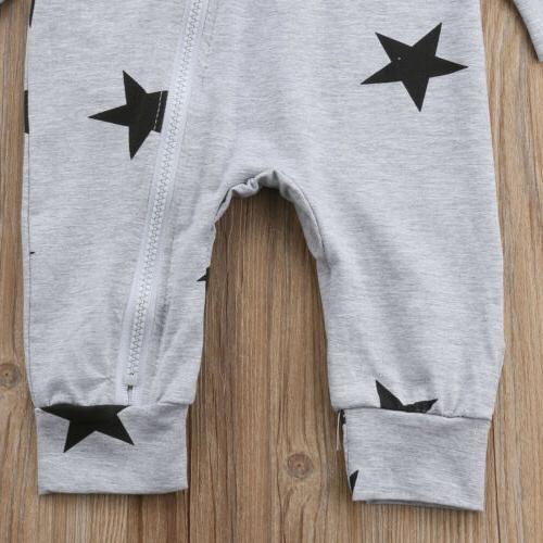 USA Boy Unisex Stars Bodysuit Playsuit