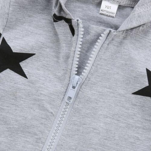 USA Newborn Boy Unisex Romper Bodysuit Jumpsuit Clothes