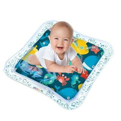 Inflatable Water Play Mat Infant Toddler Fun Tummy Time Play