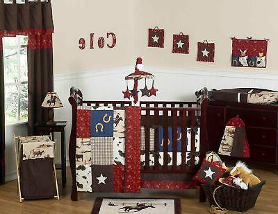 Sweet Jojo Designs Wild West 9 Piece Crib Set
