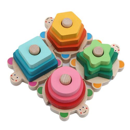 Wooden Sorting Toys Block Board Toys CO