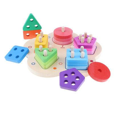 Wooden Sorting Developmental Baby Toys
