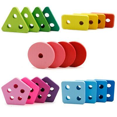 Wooden Sorting Puzzles Developmental Toys