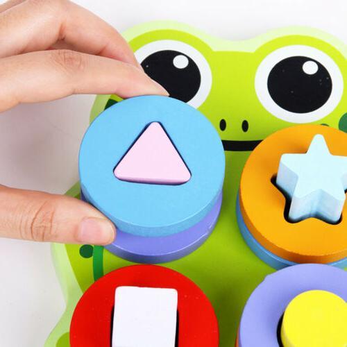 Building Sorting Game Developmental Toy Gift