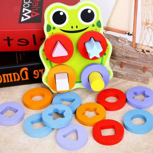 Wooden Block Toy Gift