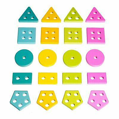 Eliiti Stacking & Sorting Puzzle Toddlers 2 to Years