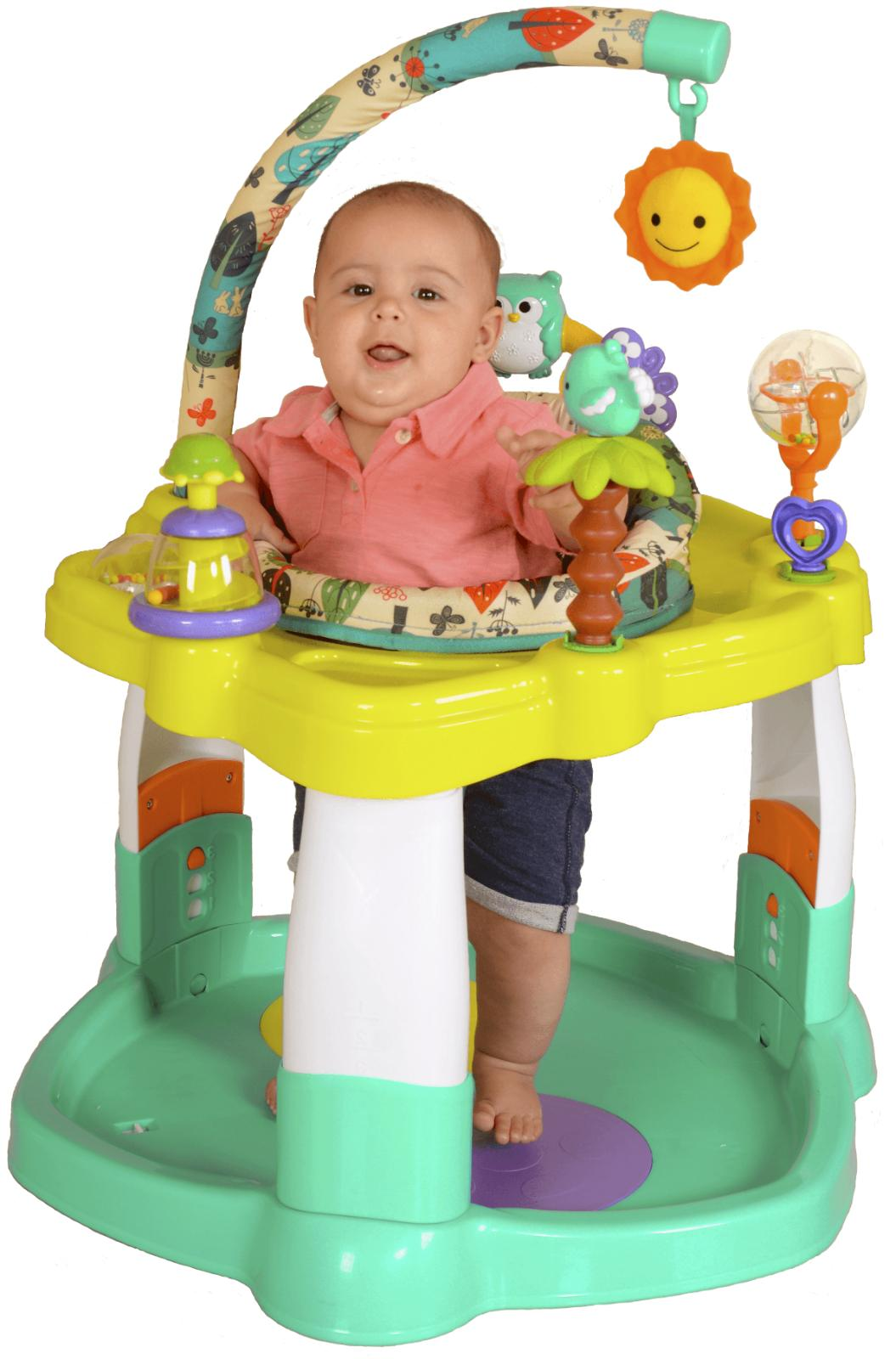 Creative Activity Center, Baby Playing,