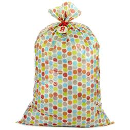 Hallmark Large Plastic Gift Bag for Baby Showers, New Parent